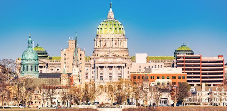 Pennsylvania capital building