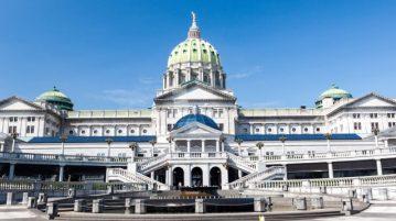 Pennsylvania capital