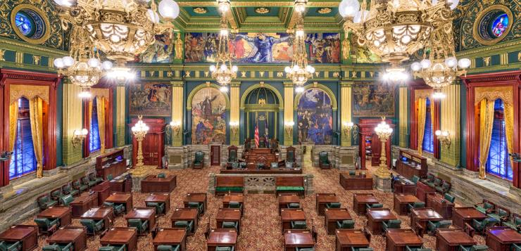 PA General Assembly floor
