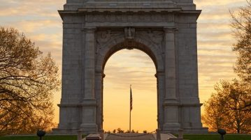 Valley Forge Memorial Arch Philadelphia