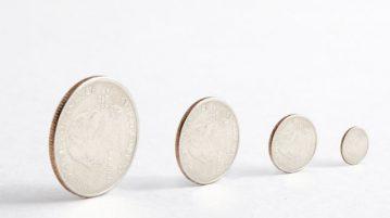 Quarters getting smaller