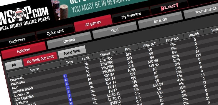 online poker industry adding pennsylvania wsop cash lobby