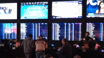 sugarhouse sportsbook betting counter