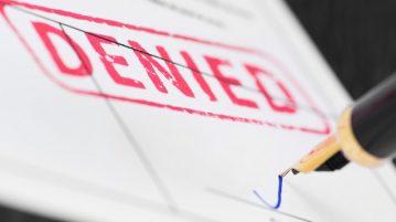 Denied signature