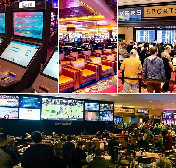 Rivers temporary sportsbook