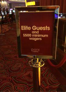 parx sportsbook elite guests sign