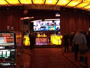 parx temporary sportsbook entrance