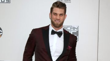 bryce harper american music awards 2016