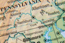 pennsylvania maryland border