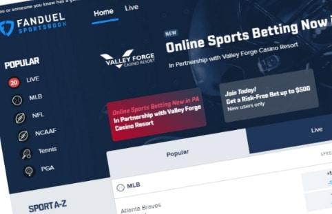 FanDuel PA Online Sportsbook Promo Code & Review - $500 Risk