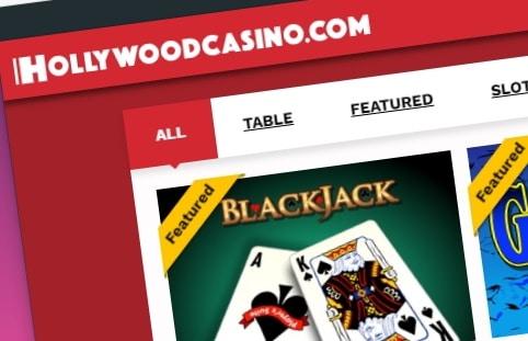 Hollywood casino lobby
