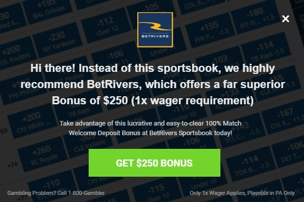 Parx Sportsbook Online Promo Code & Review - $250 Risk-Free Bet
