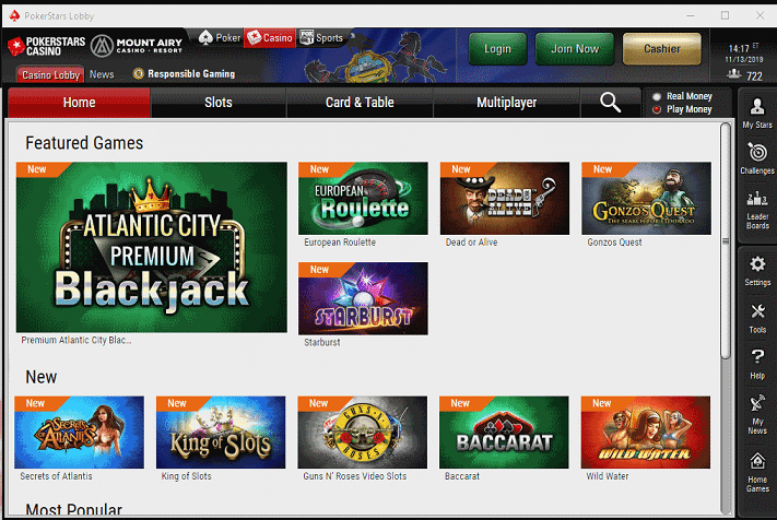 PokerStars Desktop App