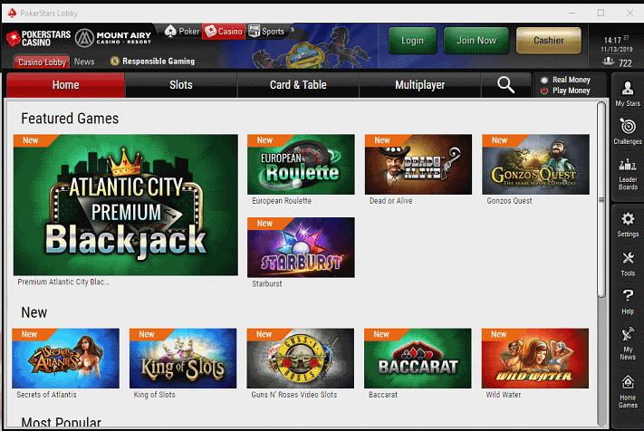 PokerStars Desktop App