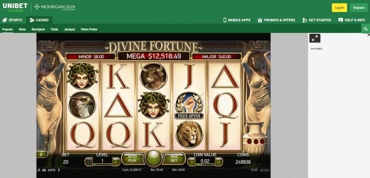 Divine Fortune Jackpot Slot