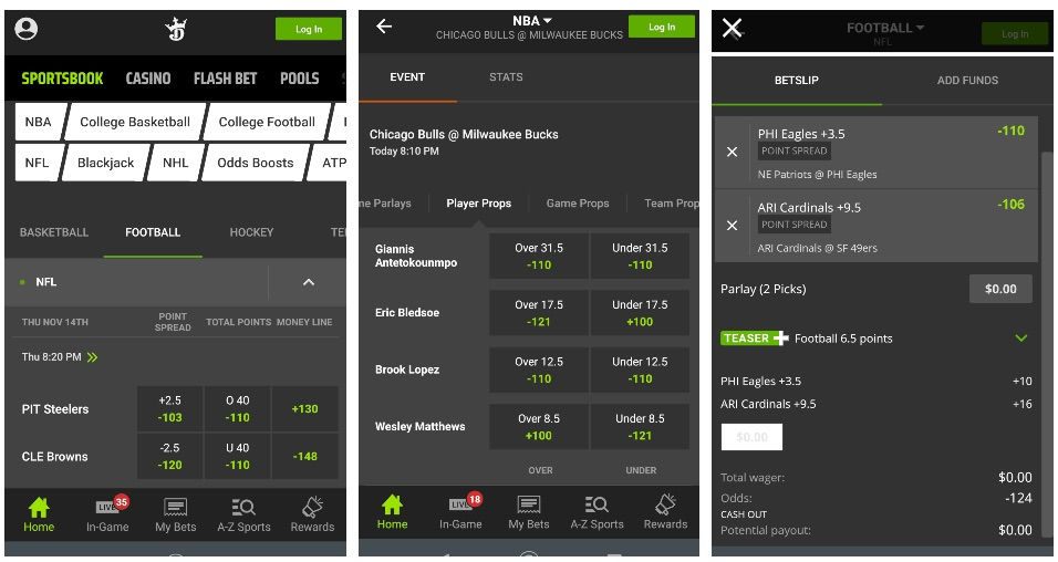 Draft kings betting lines 23 states legal horse betting