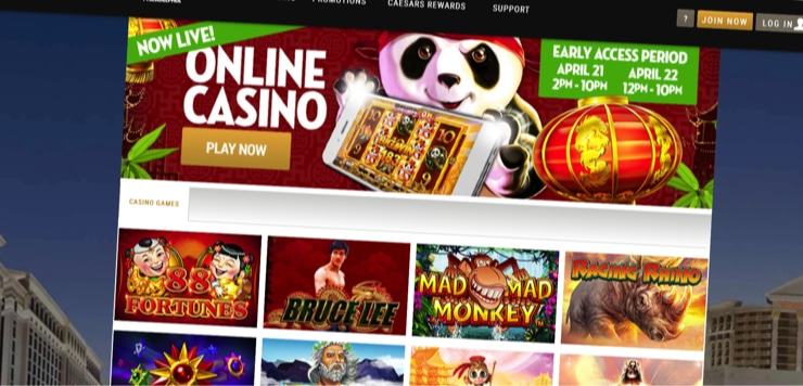 Caesars Provides Pa With A Ninth Online Casino Option
