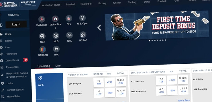 barstool sportsbook home page screen cap