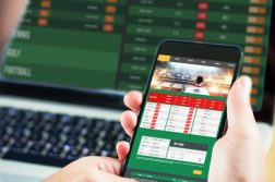 sportsbook app in hand