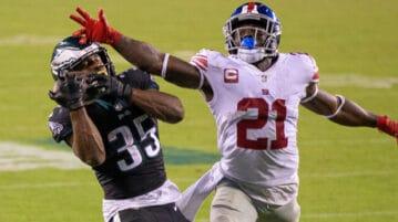 boston scott eagles touchdown catch