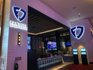 Live Casino Philadelphia Fanduel Sportsbook entrance