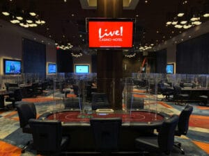 Live Casino Philadelphia poker room