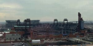 citizens bank park view