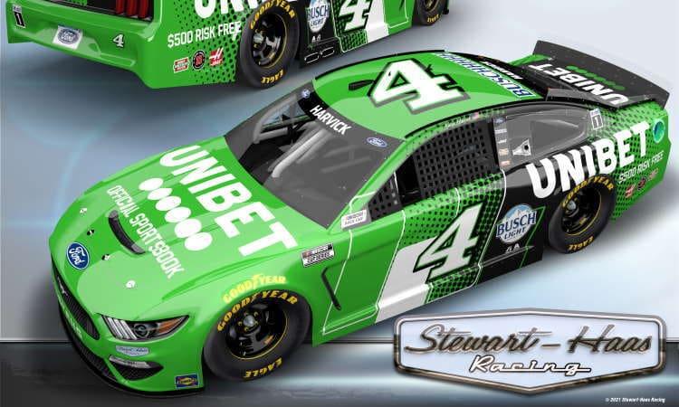 Unibet Harvick NASCAR