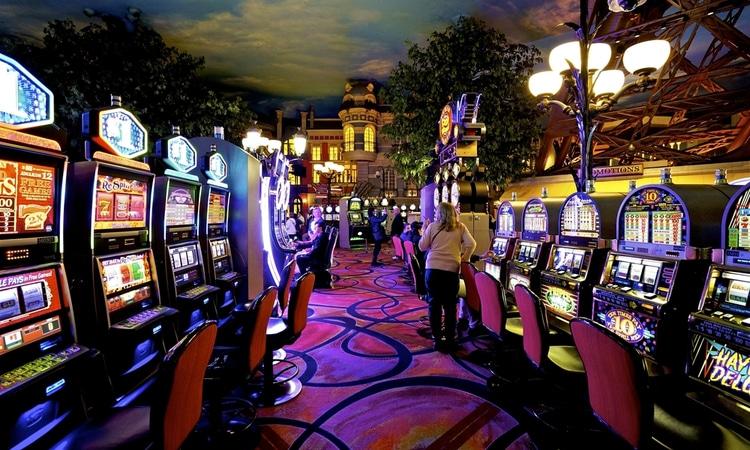 slot machine rows