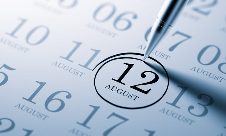 august 12