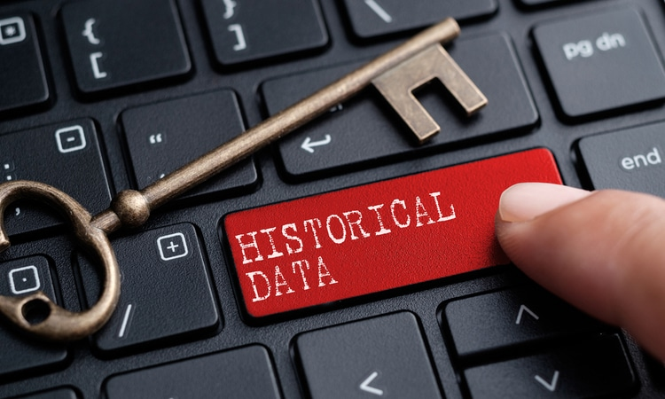 historical data search