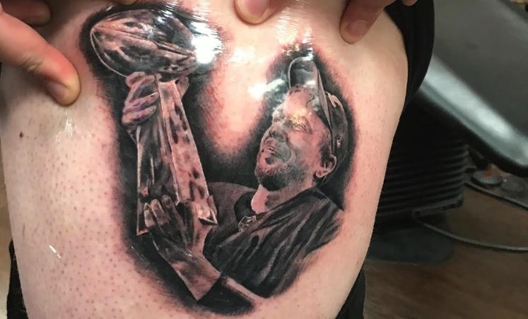 nick foles tattoo