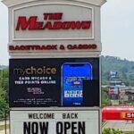meadows casino sign