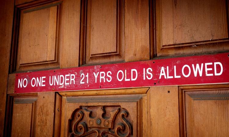 underage prohibition